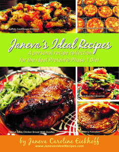 297 recipes for the Ideal Protein Phase 1 program