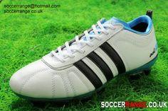 promo code a01d6 ba153 www.soccerrange.co.uk adidas-adipure-iv-trx-fg-white-black-blue.html adidas  adiPURE IV TRX FG White with Black and Blue
