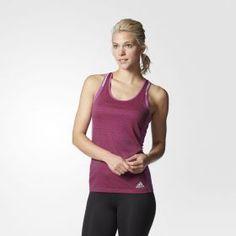 Γυναικείο αμάνικο t-shit για τις αθλητικές σας εξορμήσεις από την adidas performance από την νέα συλλογή.  Θα το βρείτε στο sportlook.gr ➜ http://goo.gl/9ehvdf