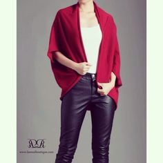 ➰ Portia outer (Red) IDR 235,000 ➰  To order, contact us  ✅ WA/ SMS: +6281330940040 ✅ BBM: 2AFD2E9E ✅ LINE: vivi-laroux  ♦️LIKE us on FB www.facebook.com/laroux.boutique  for full preview of our collection ♦️