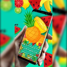 Android Theme, Digital Revolution, Pineapple Coconut, Tropical Fruits, Romantic Dinners, Free Android, Summer Fruit, Bananas, Keyboard