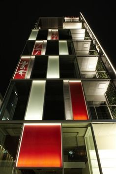 Architectural Facade lighting  HATOYA 3 BLDG http://www.iald.org/about/awards/details.asp?ID=137