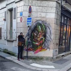 «#grenoble #france #streetart #urbanart #art #grenoble#hopare @hopare1»