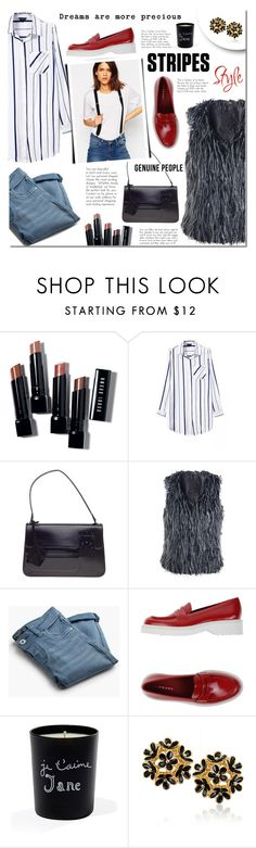 """Genuine- People"" by mada-malureanu ❤ liked on Polyvore featuring Bobbi Brown Cosmetics, Louis Vuitton, MANGO, Prada Sport, Bella Freud and Genuine_People"