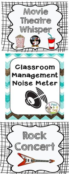 Classroom Noise Level Meter: Help your students understand what the best noise levels are for the classroom. Great tracking meter. ($)