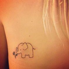 Tatoo of elephant