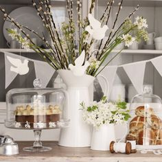 Buy Home Accessories > New Arrivals > Enamel Jug from The White Company Decorative Accessories, Home Accessories, Shabby Home, The White Company, Spring Home, Interior Inspiration, Kitchen Inspiration, Garden Inspiration, Kitchen Ideas