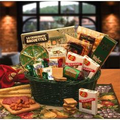 THE GOURMET CHOICE GIFT BASKET / gourmet lover