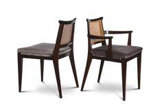 Set of 10 Dining Chairs #4632 by Edward Wormley for Dunbar
