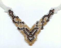 Beginner easy pattern seed beaded egyptian par JewelrybyVarvara