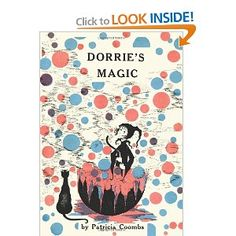 Dorrie's Magic by Patricia Coombs. I used to love reading these books when I was a kid (Dorrie the Good Little Witch).