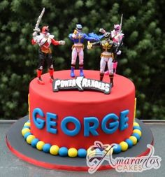 Power Rangers Cake – NC586