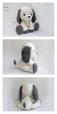 #freeamigurumipatterns Chat Crochet, Crochet Mignon, Crochet Teddy, Free Crochet, Crochet Bird Patterns, Crochet Patterns Amigurumi, Crochet Dolls, Crochet Bunny Pattern, Amigurumi Toys