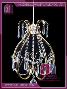 Metal chandelier amn1303 metal lampshade frames decorated with metal lampshade frame amn1013 4 greentooth Image collections