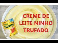 RECHEIO - CREME DE NINHO / RECHEIO DE LEITE NINHO TRUFADO - YouTube Sugar Rush, Love Cake, Mousse, Cake Recipes, Bakery, Food And Drink, Tasty, Chocolate, Desserts