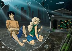 Haven't done any Percy Jackson stuff in a while, so here they are. Percy finding some Atlantis ruins and giving his gal the tour.<<< There is no fucking Atlantis Percy Jackson Ships, Percy Jackson Fan Art, Percy Jackson Memes, Percy Jackson Books, Percy Jackson Fandom, Percy And Annabeth, Annabeth Chase, Narnia, Power Rangers