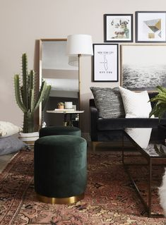 36 Inspiring Modern Home Furnishings Design Ideas Moroccan Decor Living Room, Home Living Room, Living Room Furniture, Living Room Decor, Pretty Room, Home Interior Design, Home Furnishings, Cara Loren, Home Decor