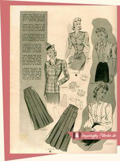 Beswingtes Allerlei - Swing, Mode der 40er und 50er Jahre und Leidenschaft!: 40er Jahre