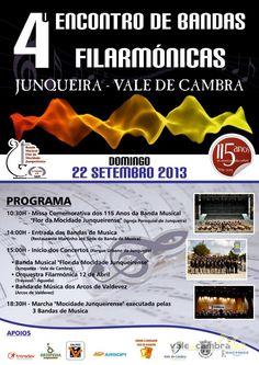 4.º Encontro de Bandas Filarmónicas > 22 Setembro 2013 @ Junqueira, Vale de Cambra #ValeDeCambra #JunqueiraVLC