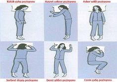 Uyuma Pozisyonuna Göre Karakter Tahlili Foto Galerisi