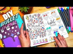 (410) MY FIRST BULLET JOURNAL! | PLAN WITH ME - YouTube
