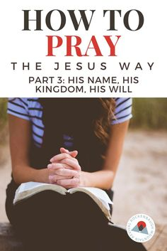 Learning to pray is a foundational discipline of the the Christian faith.  In this blog post series on prayer, author Summer Lacy gives us insight into the practice of prayer using the model Jesus taught His own disciples - The Lord's Prayer.  This simple, unassuming prayer Jesus gave us lays the foundation for a fulfilling life of prayer.