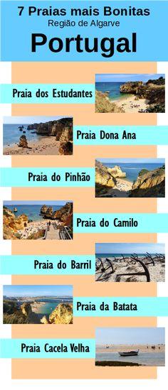 Listamos as 7 praias mais bonitas em Lagos na Região de Algarve em Portugal, que devem estar em qualquer roteiro de viagem por terras portuguesas: Praia Dona Ana, Cacela Velha, Praia do Pinhão, Praia dos Estudantes, Praia do Barril e Praia do Camilo.