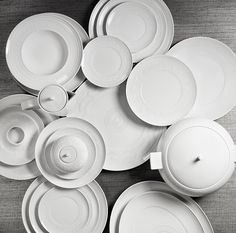 ORNAMENT Tableware by Sam Baron | Inspired by the hand work of the ceilings in the Palace of Vista Alegre.