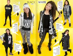 One of my fave tween magazine fashion layouts from True Star Junior