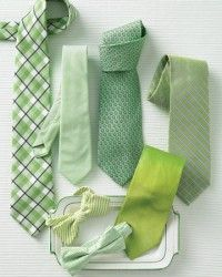 Emerald Green Ties