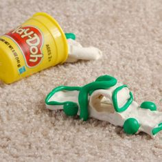 How to Get Play-Doh Out of Carpet