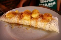 Delicious Brazilian Tapioca. Recipe: http://braz.nu/delicious-brazilian-tapioca/