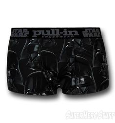 Images of Star Wars Vader Short-Cut Pull-In Boxer Briefs