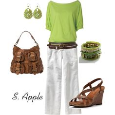 """""""Lime"""" by sapple324 on Polyvore"""