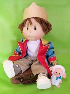Ilma Dolls - The Little Prince with suitcase