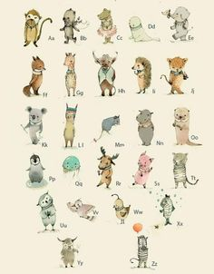 < no source > animal alphabet