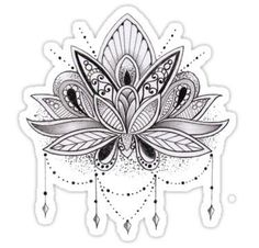 2 boards of temporary tattoos in the Lotus Flower style! Each of the boards measuring x You can find on these boards 2 tattoos representing a Lotus Flower ! Tattoos are hypoallergenic, easy to apply and lasts days Mandala Tattoo Design, Lotus Flower Tattoo Design, Lotus Flower Drawings, Mandala Wrist Tattoo, Lotus Drawing, Lotus Mandala Design, Easy Mandala Drawing, Flower Art, Simple Mandala Tattoo