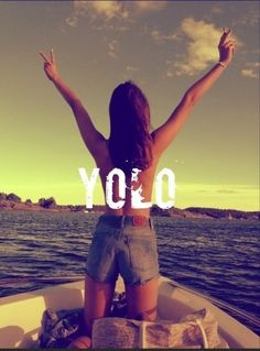Yolo photo, travel because you only live once