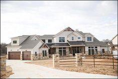 117 fabulous modern farmhouse exterior design ideas page 41 - DIY Decor Ideas Dream House Exterior, Dream House Plans, Dream Houses, Dream Home Design, My Dream Home, Dream Life, Cute House, My House, Farm House