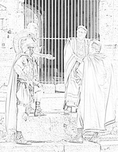 Styxx Boceto de Halicarnassus Sherrilyn Kenyon, Dark Hunter, Hunters, Minions, The Darkest, Coloring Pages, Sketches, Fantasy, Album