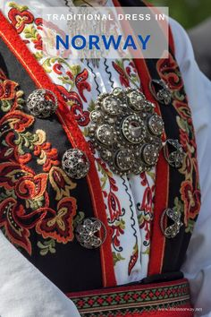 A Bunad is a traditional costume in Norway. It's a colourful folk dress that is worn mostly on special occasions throughout the year. Norway Culture, History Of Norway, Folk Costume, Costumes, Norwegian People, Norwegian Vikings, Deeper Shade Of Blue, Blue Stockings, White Apron