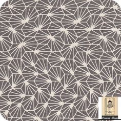 tissu coton imprimé japonais étoiles blanches sur fond gris origami- Tissu ameublement, déco, : Tissus Habillement, Déco par cousu-main-mercerie