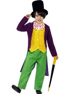 Dressing up for World Book Day or Roald Dahl Day? This great value Willy Wonka costume is available from partydelights.co.uk.