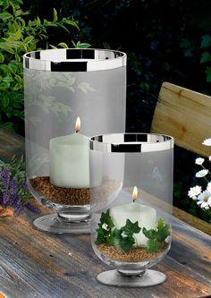 Fink living leuchter windlicht charleston gro windlicht for Adventskranz edelstahl dekorieren