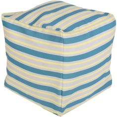 POUF-281 - Surya | Rugs, Pillows, Wall Decor, Lighting, Accent Furniture, Throws, Bedding