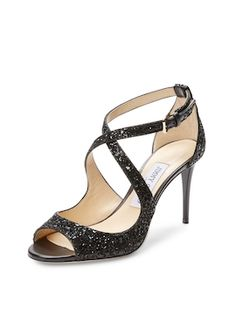 5421e5d42a Emily Leather High Heel Pump by Jimmy Choo at Gilt
