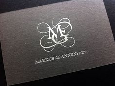 MG Business card by Joachim Vu