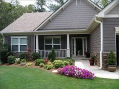 landscaping ideas for ranch homes 49