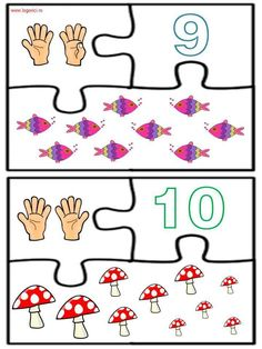 Învăţăm jucându-ne: Numerele de la 1 la 10 - Logorici Thing 1, Playing Cards, Games, Playing Card Games, Gaming, Game Cards, Plays, Game, Toys