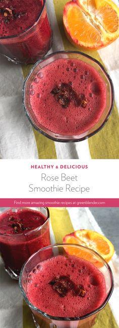 rose beet smoothie recipe